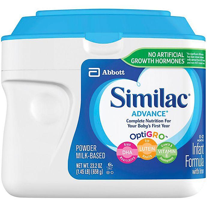 Alternate image 1 for Similac® Advance® 23 Oz. Infant Formula Powder