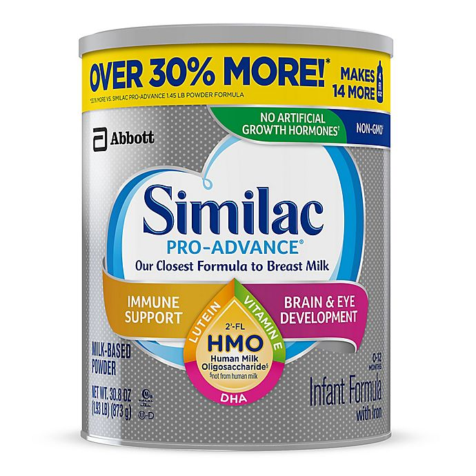 Alternate image 1 for Similac® Pro-Advance Value Size 30.8 oz. Infant Formula Powder