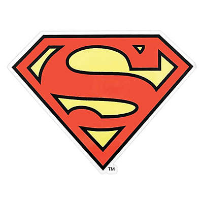 Warner Brothers® Superman Outdoor Decal in Red/Yellow
