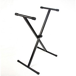 Reprize Single X Keyboard Stand in Black