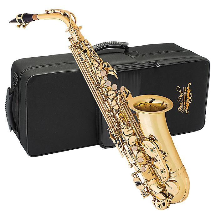 Alternate image 1 for Jean Paul Student Alto Saxophone with Case in Gold