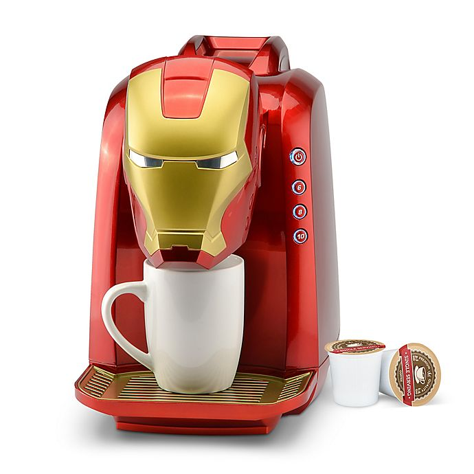 Alternate image 1 for Marvel® Iron Man Single Serve Coffee Maker in Multi