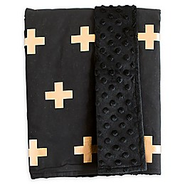 Bambella Designs Crosses Stroller Blanket
