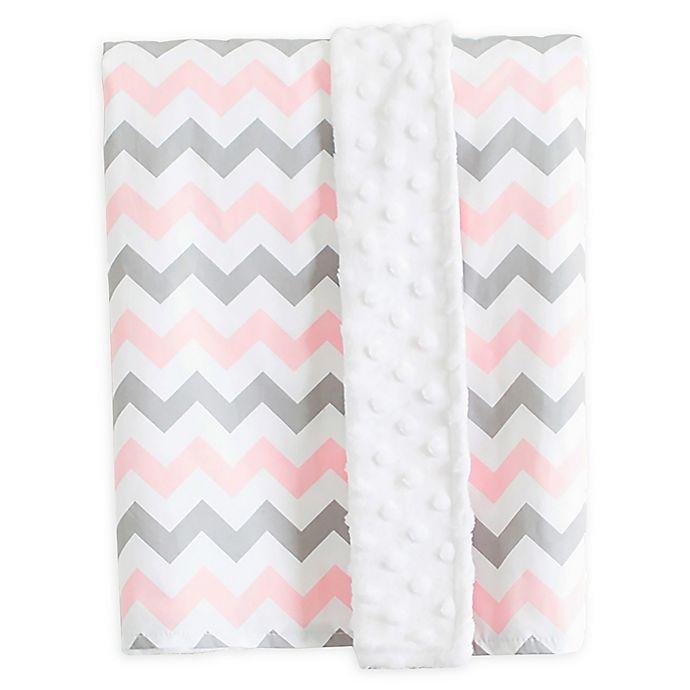 Alternate image 1 for Bambella Designs Chevron Stroller Blanket