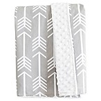 Bambella Designs Arrows Stroller Blanket in Grey