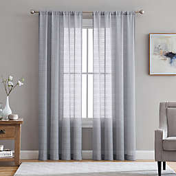 Gray Sheer Curtains Bed Bath Beyond