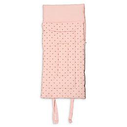 Gold Heart Sleeping Bag in Pink