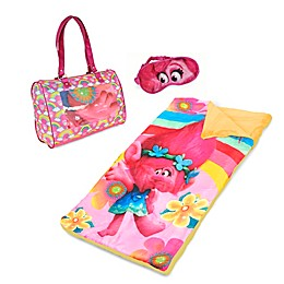 "DreamWorks® ""Trolls"" Child's Sleepover Purse Set in Pink"