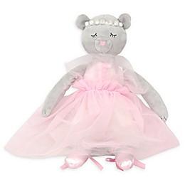 American Kids Kitty Ballerina Throw Pillow in Pink