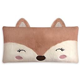 American Kids Fox Throw Pillow in Rust