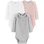 Little Planet™ Organic by carter's® Newborn 3-Pack Bodysuits