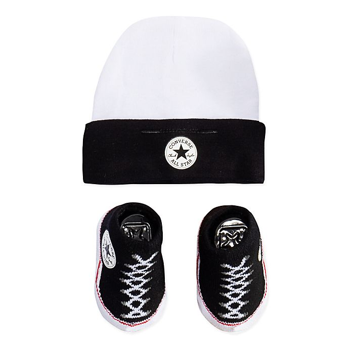 Converse Hat and Chuck Bootie Set in Black  fede8a9de6
