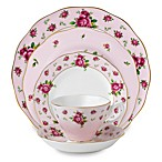 Royal Albert New Country Roses Vintage 5-Piece Place Setting in Pink