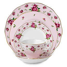 Royal Albert New Country Roses Dinnerware Collection in Pink