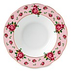 Royal Albert New Country Roses Vintage Rim Soup Bowl in Pink