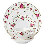 Royal Albert New Country Roses 5-Piece Place Setting in White