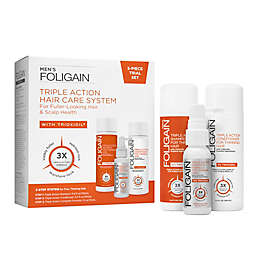 Foligain® Triple Action Hair Care System Trial Kit for Men with Trioxidil®