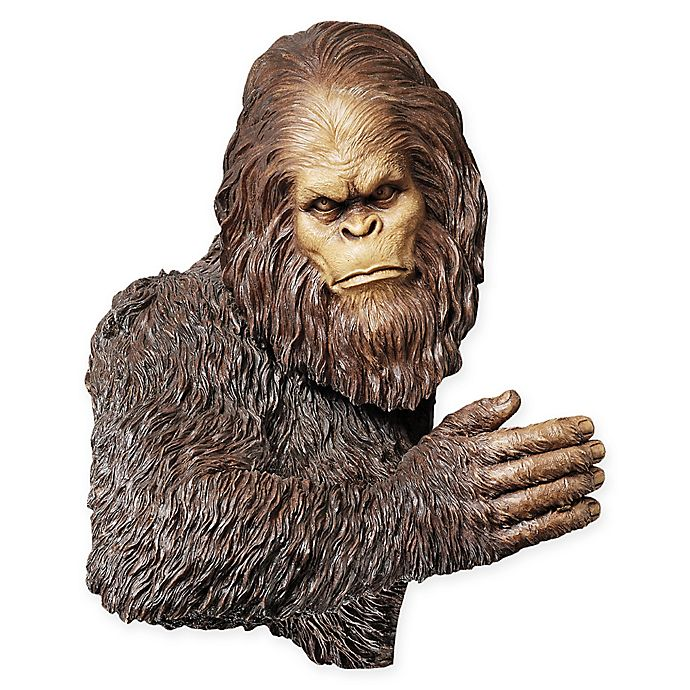 Alternate image 1 for Design Toscano Bigfoot The Bashful Yeti Tree Sculpture Statue