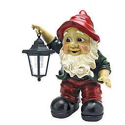 Design TOSCANO® Edison Lantern Garden Gnome Statue