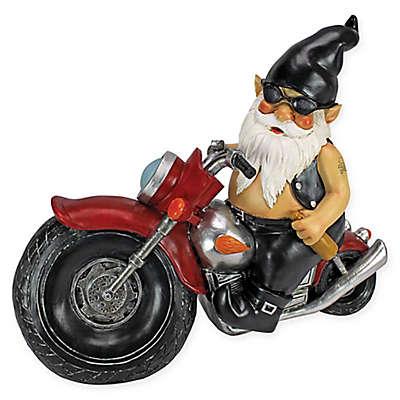 Design Toscano Axle Grease the Biker Gnome Statue