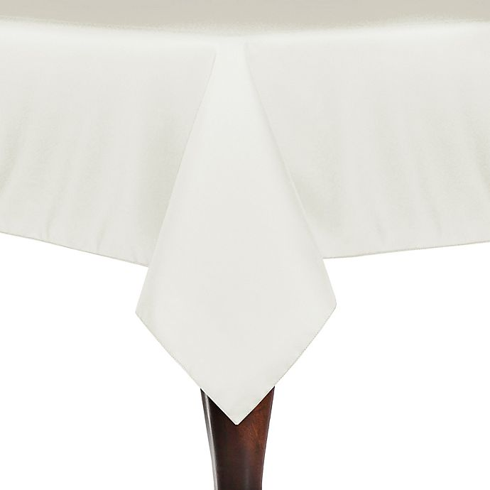 Alternate image 1 for Solid Linen 60-Inch x 108-Inch Oblong Tablecloth