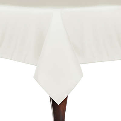Solid Linen 60-Inch x 108-Inch Oblong Tablecloth