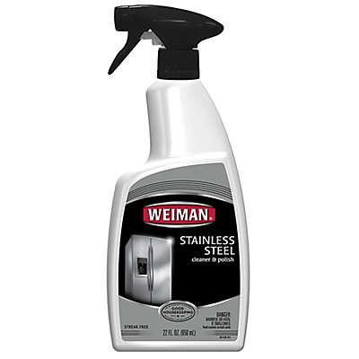 Weiman® Stainless Steel Cleaner & Polish in 22-Ounce Spray Bottle