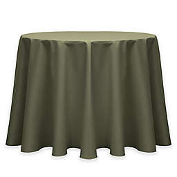Twill 72-Inch Round Tablecloth