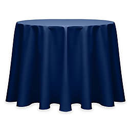 Twill 60-Inch Round Tablecloth