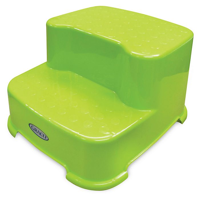 Graco 174 Lime Green Transitions Step Stool Bed Bath And
