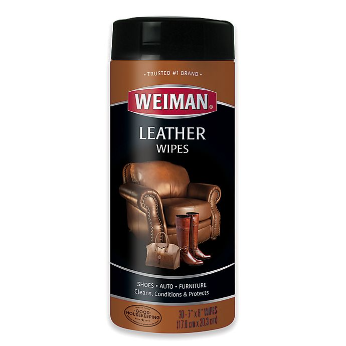 Alternate image 1 for Weiman® Leather Wipes