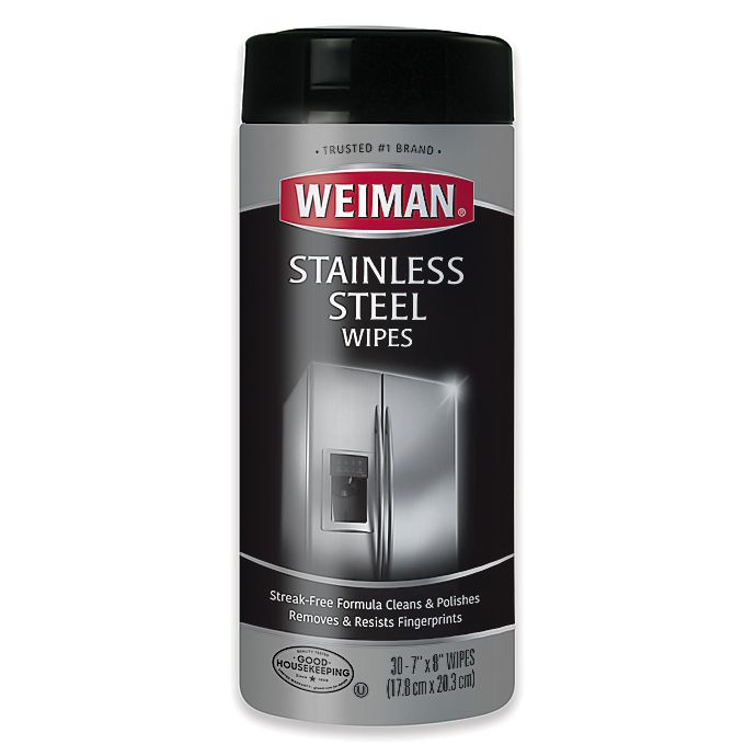 Alternate image 1 for Weiman® Stainless Steel Wipes