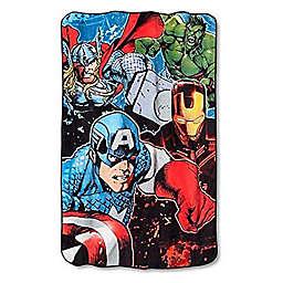 Marvel® Avengers Plush Twin Blanket