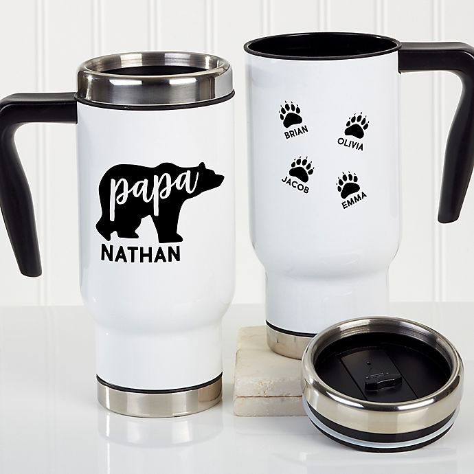 Alternate image 1 for Papa Bear 14 oz. Travel Mug