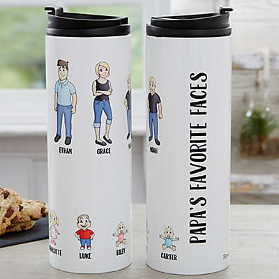 Character Collection 16 oz. Travel Tumbler