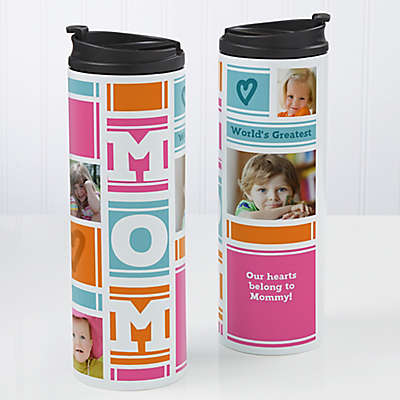 MOM Photo Collage 16 oz. Travel Tumbler