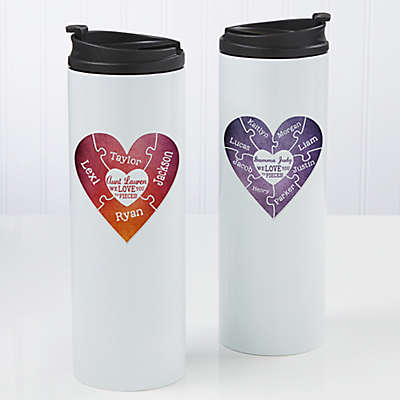 We Love You To Pieces 16 oz. Travel Tumbler