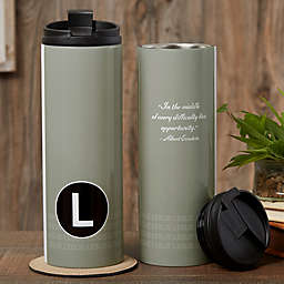 Sophisticated Quotes 16 oz. Travel Tumbler