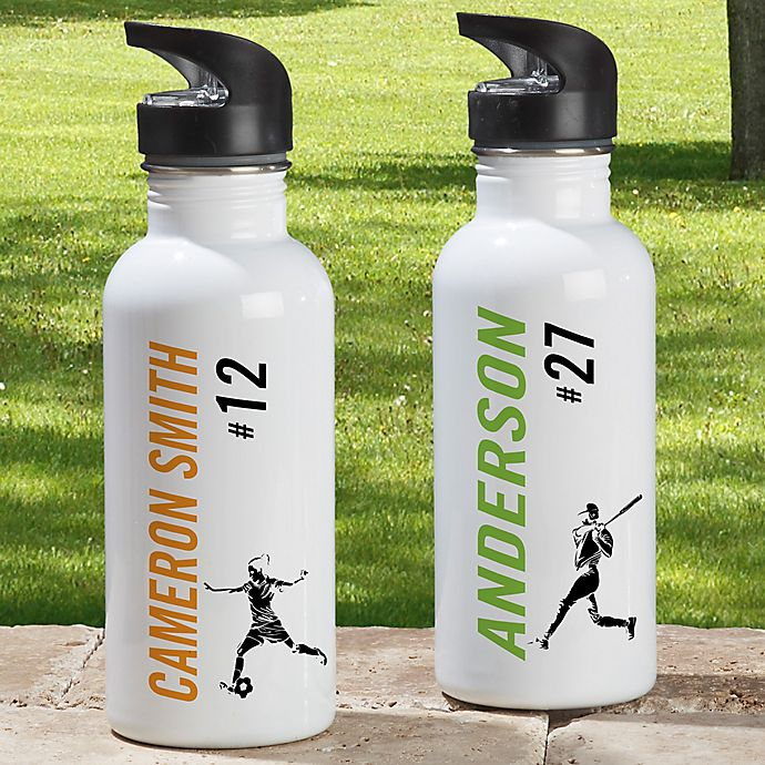 Alternate image 1 for Sports Enthusiast 20 Sports 20 oz.  Water Bottle