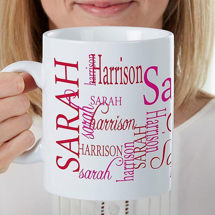 Alternate image 1 for Signature Style For Her 30 oz. Oversized Coffee Mug