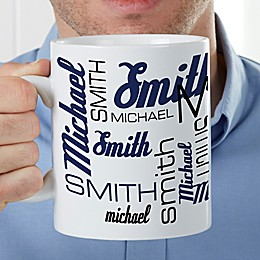 Signature Style For Him 30 oz. Oversized Coffee Mug