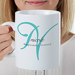 Name Meaning 30 oz. Oversized Coffee Mug
