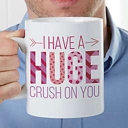 Crush On You 30 oz. Oversized Coffee Mug