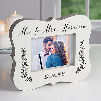 Wedded Bliss 5-Inch x 7-Inch Picture Frame