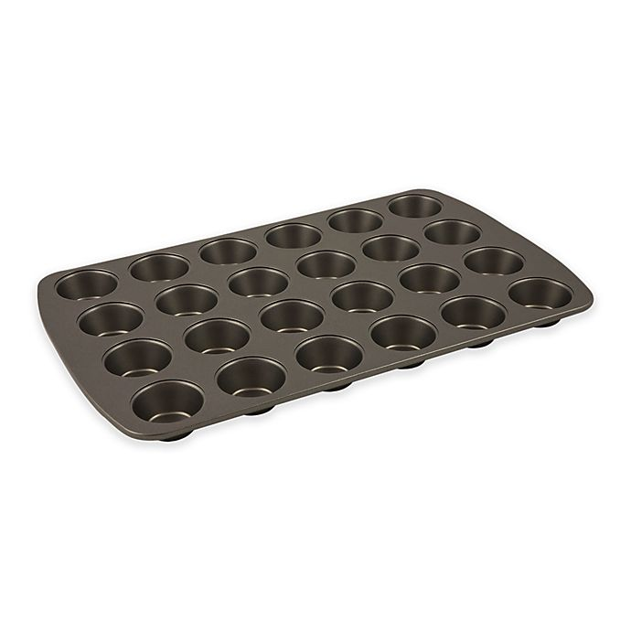 Alternate image 1 for Range Kleen® Nonstick 24-Cup Mini Muffin Pan in Grey