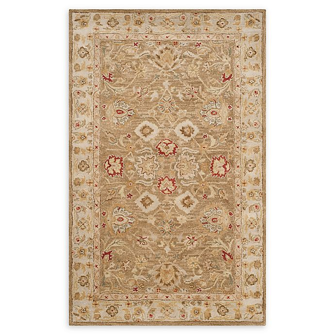 Alternate image 1 for Safavieh Antiquity Leyla Handcrafted Rug in Brown
