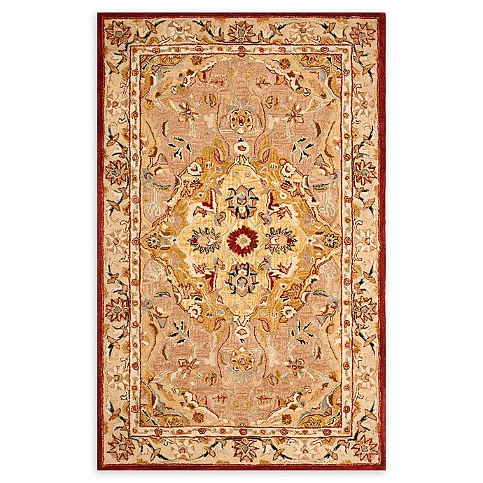 Alternate image 1 for Safavieh Fayna Hand-Tufted Rug in Gold