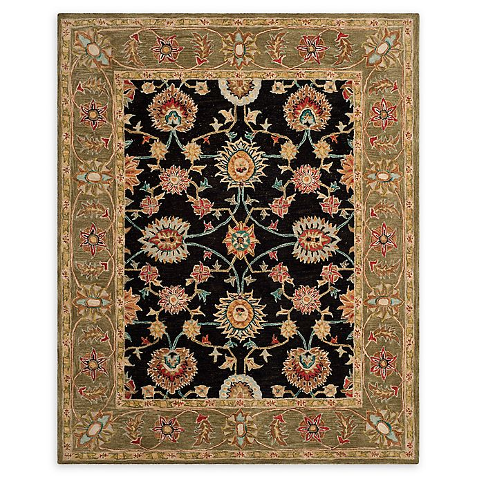 Alternate image 1 for Safavieh Anatolia Melania 8' x 10' Handcrafted Area Rug in Black