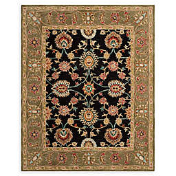 Safavieh Anatolia Melania 8' x 10' Handcrafted Area Rug in Black