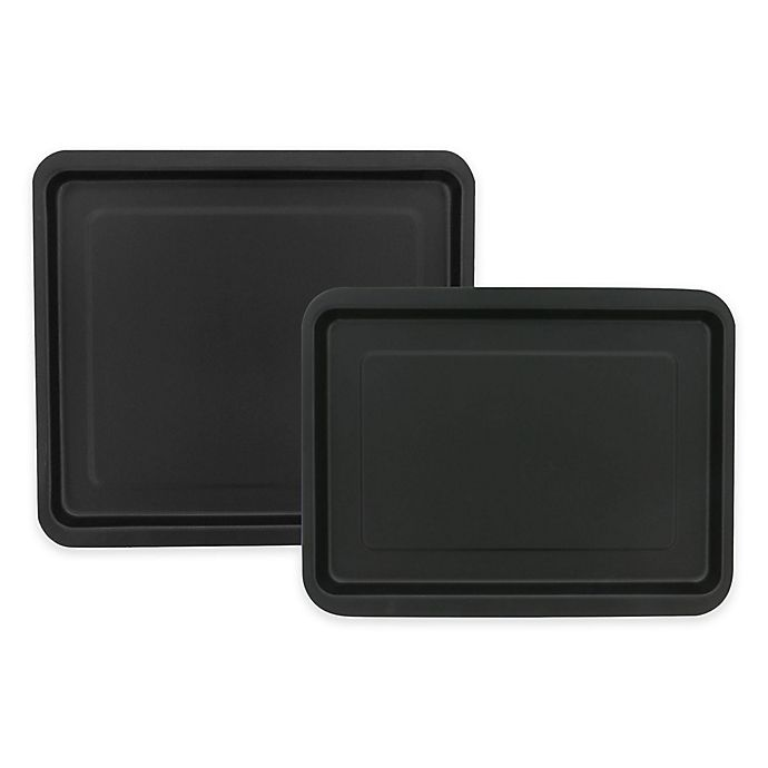 Alternate image 1 for Ballarini La Patisserie 2-Piece Jelly Roll Pan Set in Black